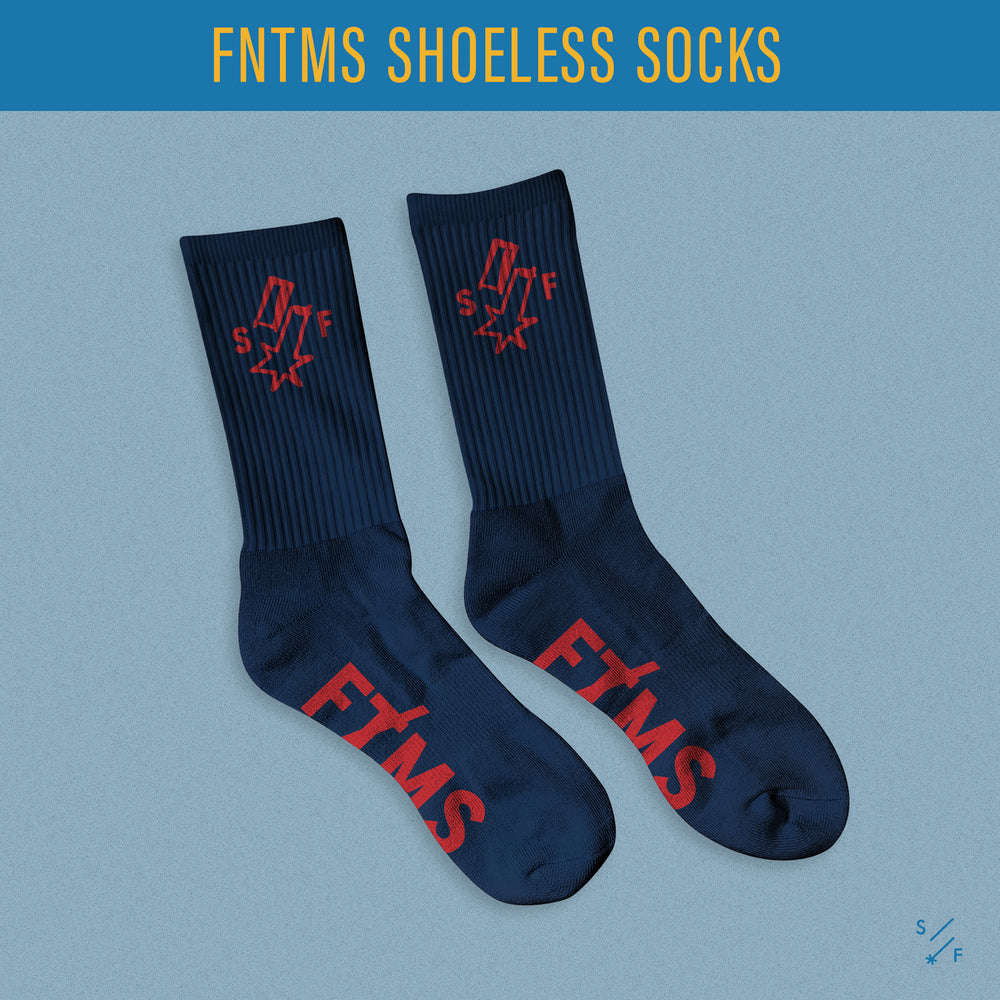 FNTMS Shoeless Socks