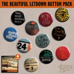 The Beautiful Letdown Button Pack