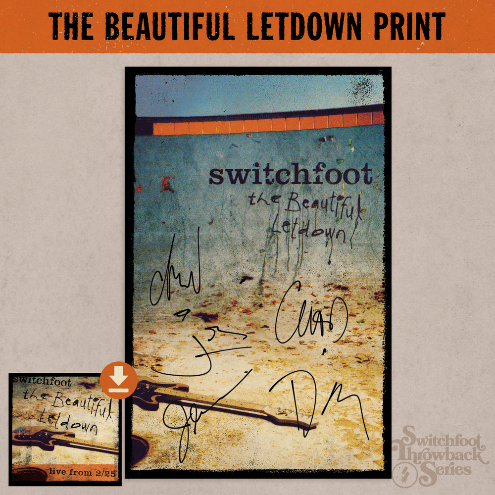 The Beautiful Letdown Throwback Print