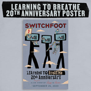 Learning To Breathe 20th Anniversary Limited Edition Poster