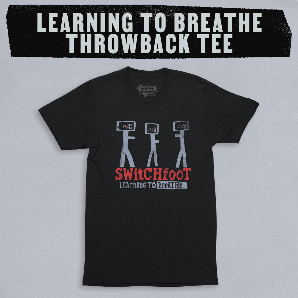 Learning to Breathe Throwback Tee