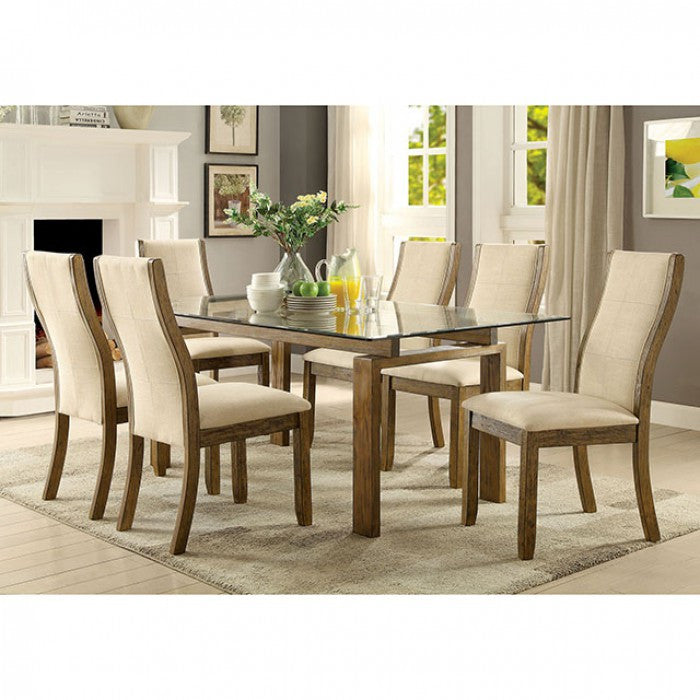 7 Pieces Dining Set ONWAY DINING TABLE | CM3461T