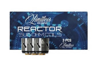 Limitless Reactor Coils 3 Pack .5 Ohm