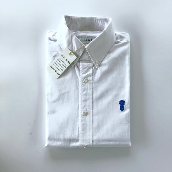 Perfect white cotton Summer shirt