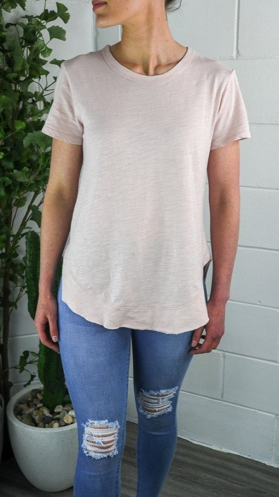 3rd Story Paddington Tee  - Blush