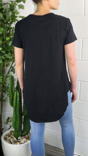 3rd Story Sorrento Tee - Black