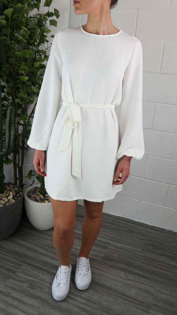 Enchi Dress - White