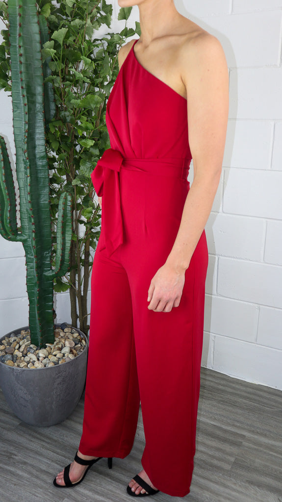 Sanz Jumpsuit - Red