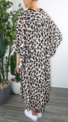 Molly Cape - Leopard Printed