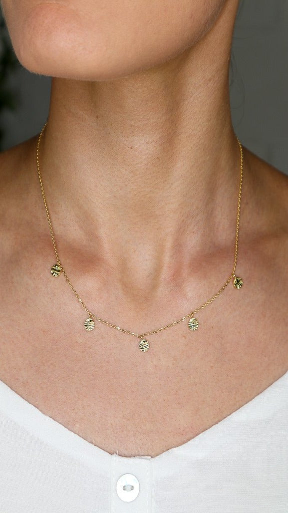 Lainy Necklace - Gold - Jolie & Deen