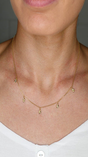 Clare Necklace - Gold - Jolie & Deen