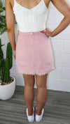 Gemima Skirt - Blush