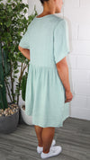 Saos Dress - Green