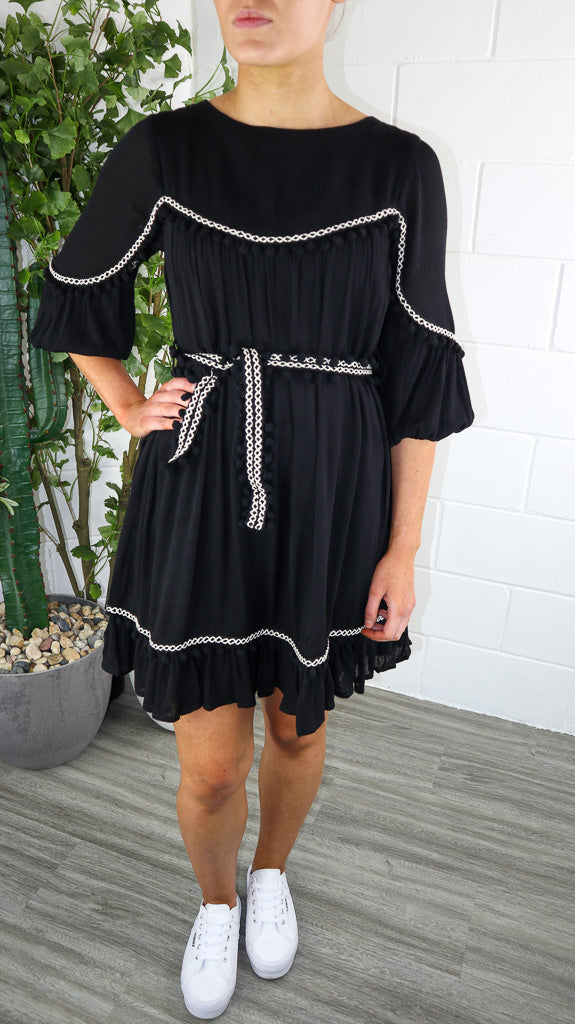 Scandy Dress - Black