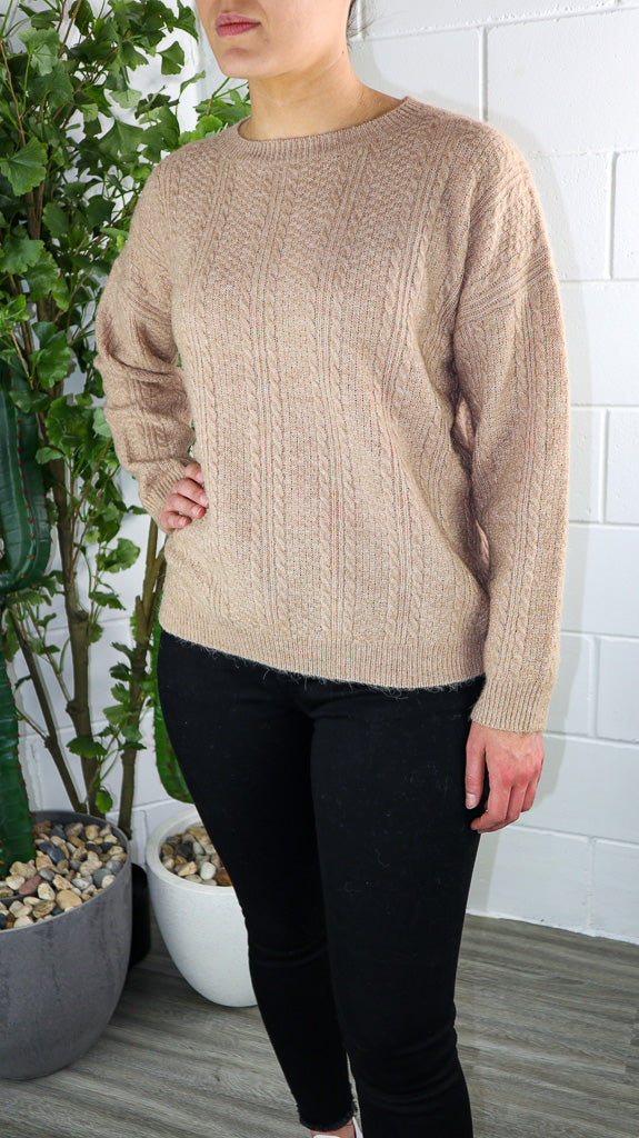 Primmy Knit - Brown