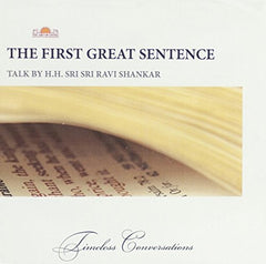 The First Great Sentence, CD
