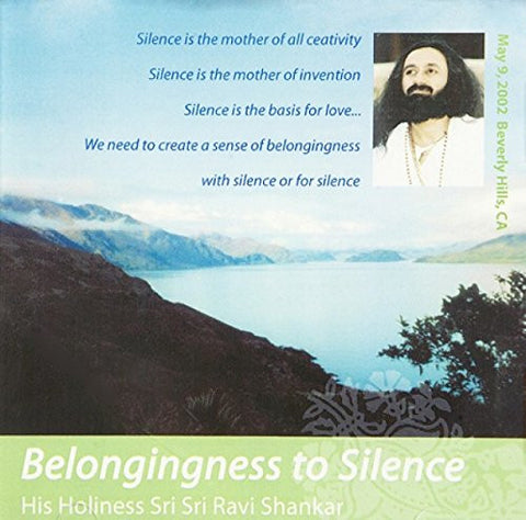 Belongingness to Silence, CD
