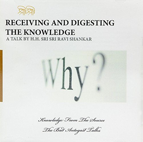 Receiving & Digesting Knowledge, CD