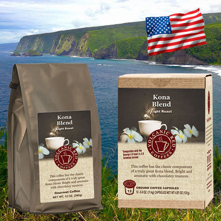 Our Kona Blend: The Story of our Featured Coffee of the Month!