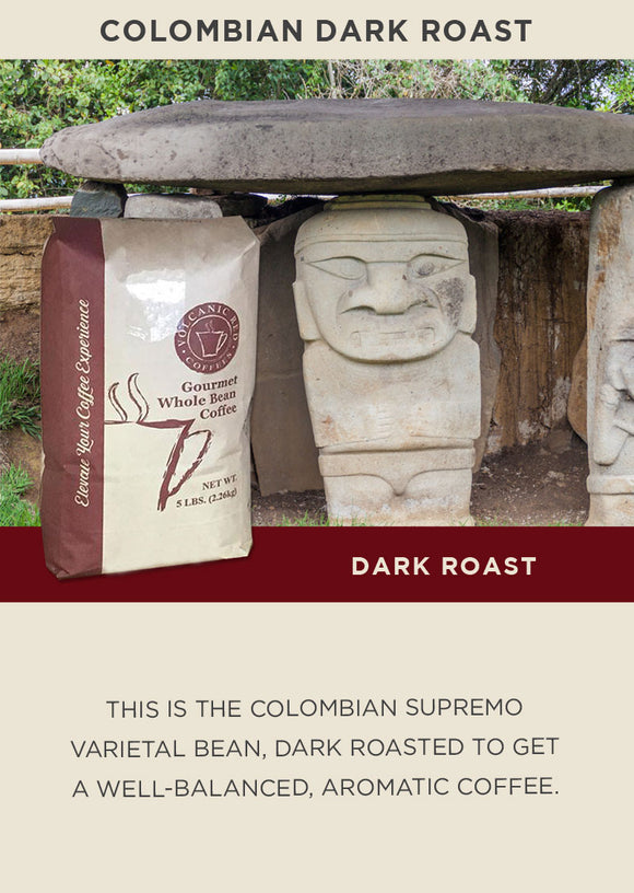Colombian Dark Roast - Bulk 5lb
