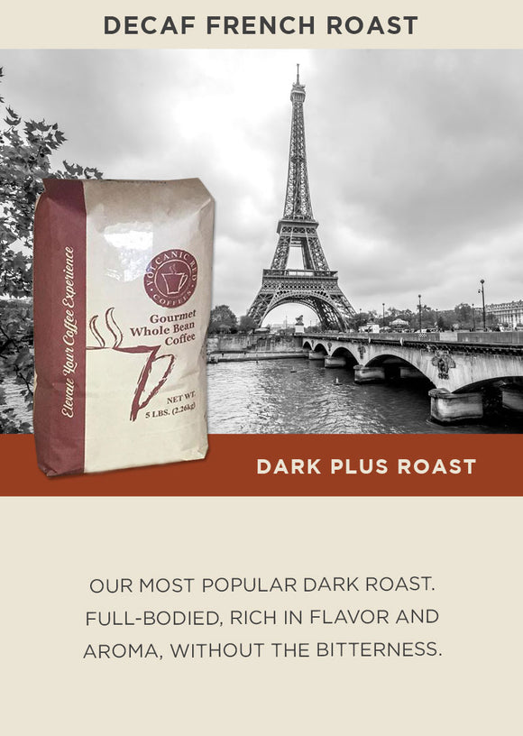 Decaf French Roast - Bulk 5lb