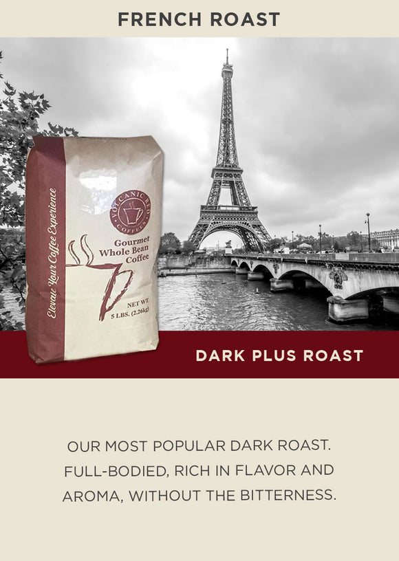 French Roast - Bulk 5lb (Save 15 % CODE - DRK15)