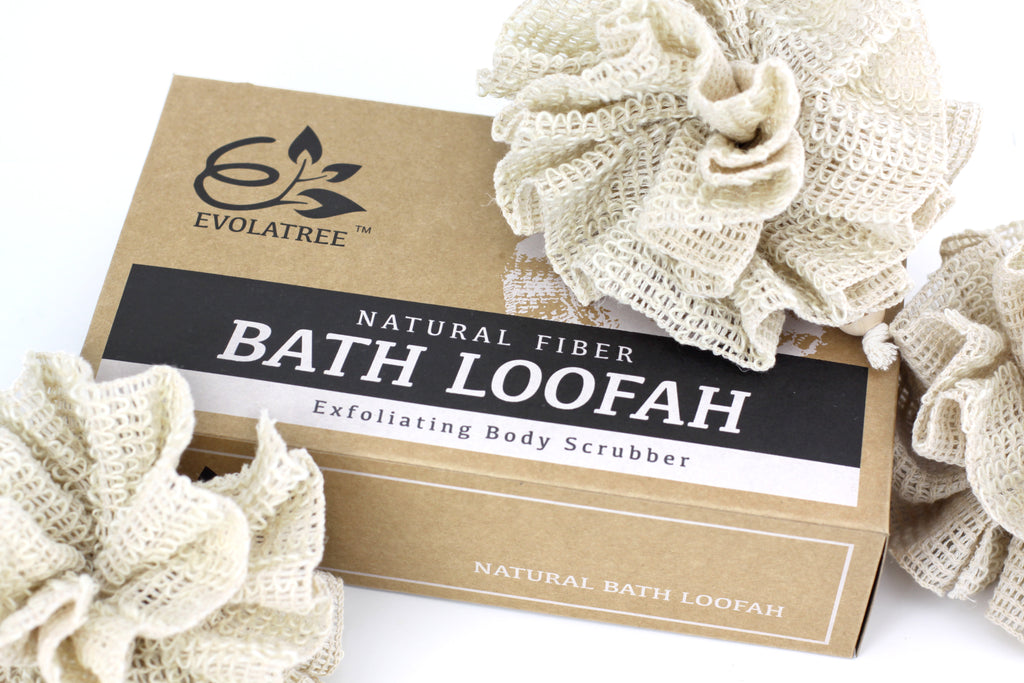 EVOLATREE LAUNCHES NEW NATURAL BATH & SHOWER BODY LOOFAH