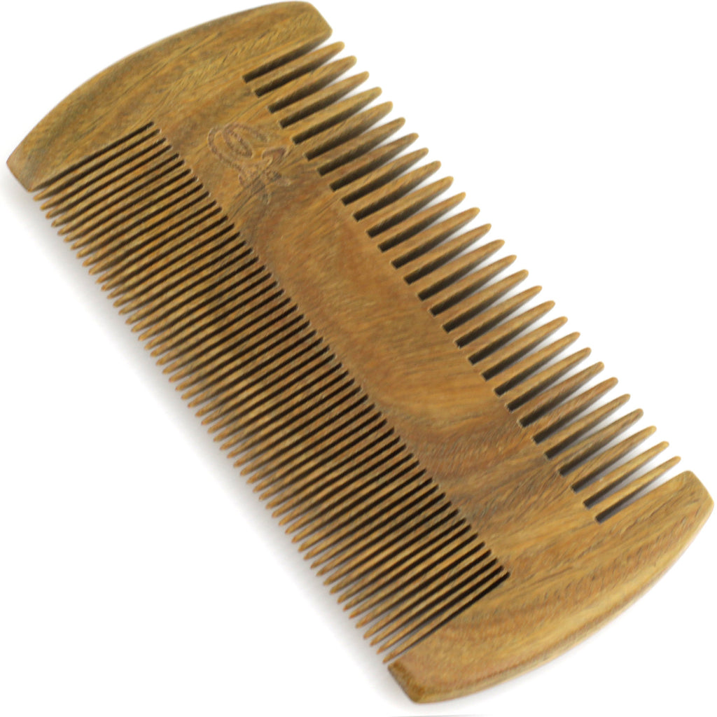 Evolatree - Elegant Natural Handcrafted Comb - Fine Tooth - Lignum Vitae Wood - 4.5""