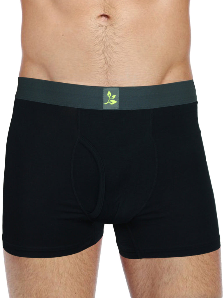 Evolatree - Men's Natural Bamboo Boxer Briefs - 8 Pack