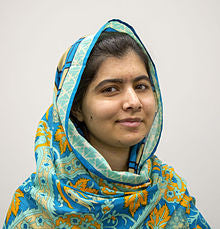 Malala Yousafzai, activist and author.