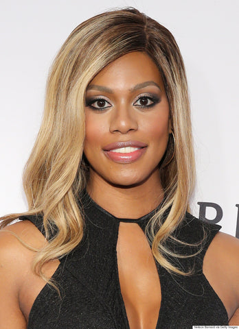 Laverne Cox, actress and activist.