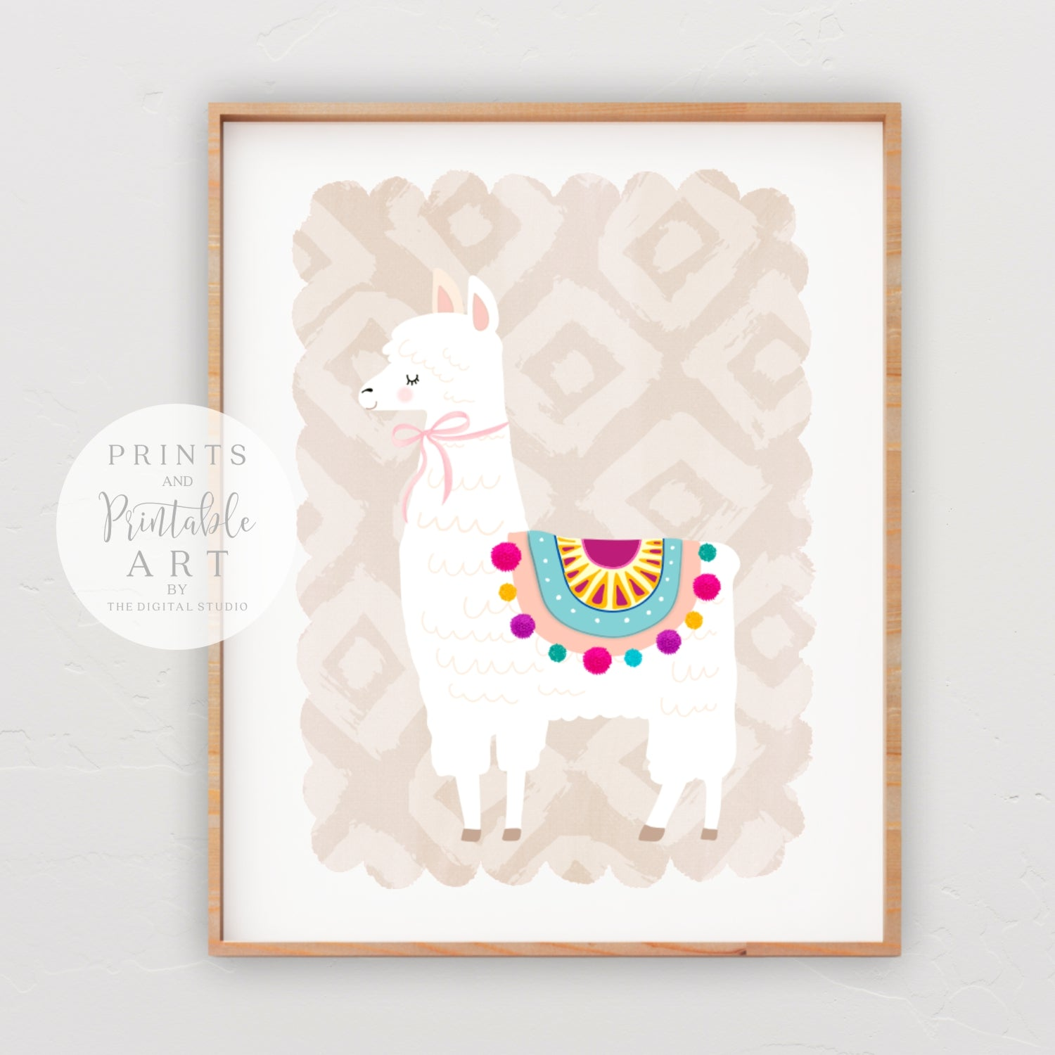 graphic regarding Llama Printable identified as Llama Choice #2 -Fastened of 3 - Printable Artwork