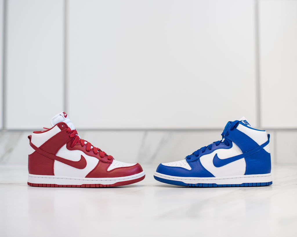 Nike Dunk High Be True To Your School Pack – AtEaze 36bdee365dbc