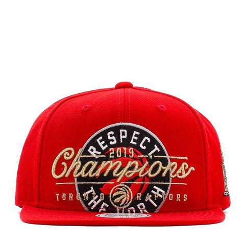 M&N RESPECT THE NORTH CHAMPIONS SNAPBACK