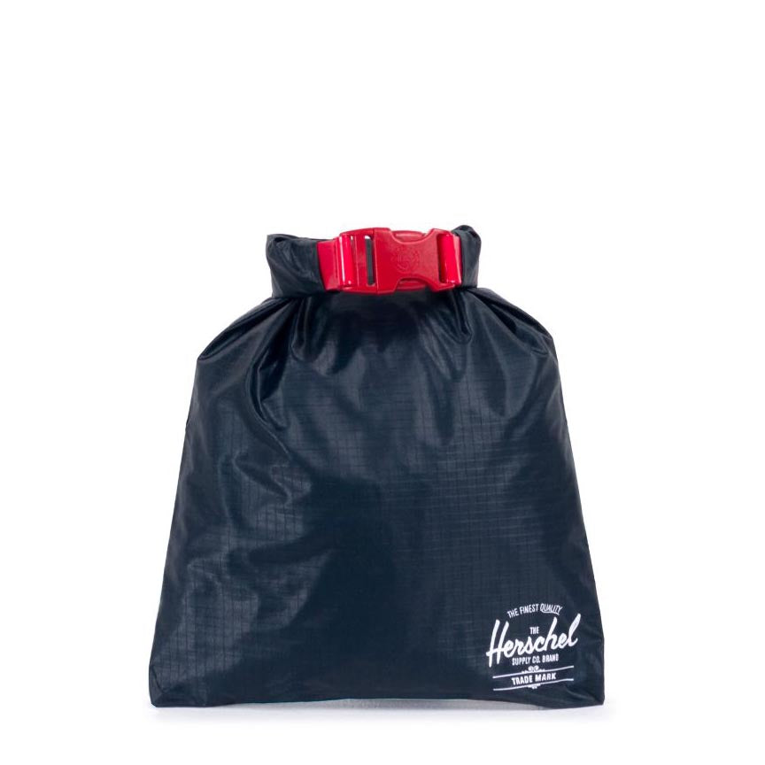 HERSCHEL DRY BAG NYLON NAVY/RED - 10527-00018 - Ateaze Canada