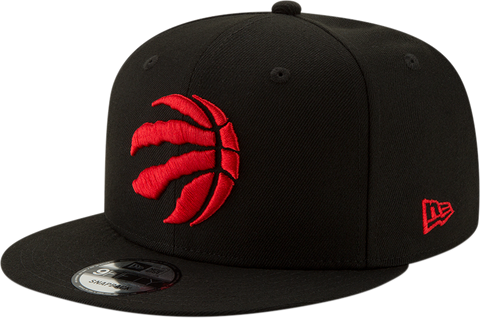 NEW ERA 950 '19 TORONTO RAPTORS RECT CHAMPS SNAPBACK (BLACK/RED)