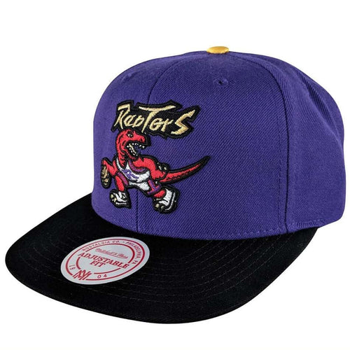 MITCHELL & NESS RAPTORS GOLD TIP 2 SNAPBACK - Ateaze Canada