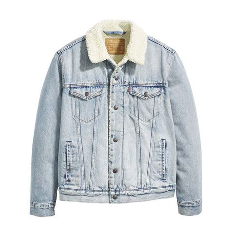 LEVI'S TYPE 3 SHERPA TRUCKER JACKET (STONEBRIDGE LIGHT) - 16365-0070 - Ateaze Canada