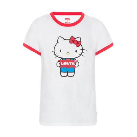 LEVI'S HELLO KITTY PERFECT RINGER TEE - 35793-0049 - Ateaze Canada