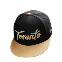 Load image into Gallery viewer, NEW ERA 950 TORONTO RAPTORS CHAMP19 (BLACK/GOLD) - Ateaze Canada