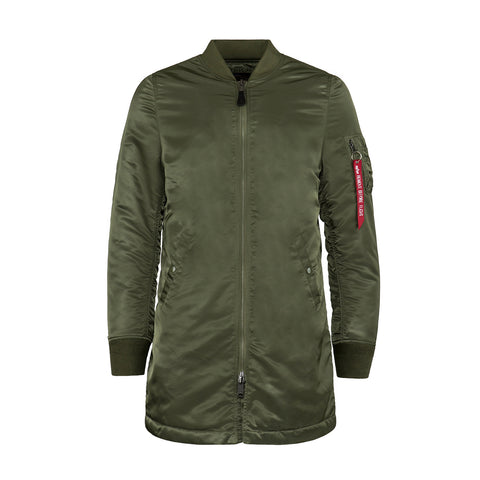 ALPHA INDUSTRIES MA-1 LONG FLIGHT JACKET - MJM47503C1 - Ateaze Canada