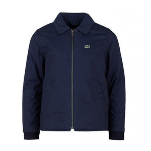 LACOSTE BOYS' QUILTED LINING POPLIN ZIP JACKET (NAVY) - BJ3315 - Ateaze Canada