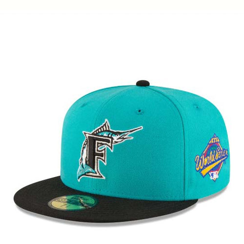 NEW ERA 5950 WORLD SERIES FLORIDA MARLINS 1997 - Ateaze Canada