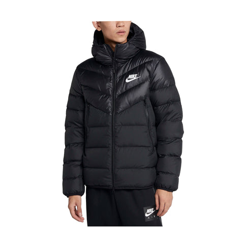 NIKE M NSW DOWN FILL WINDRUNNER HOODED JACKET - 928833-010 - Ateaze Canada