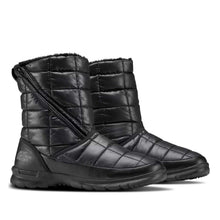 Load image into Gallery viewer, TNF W THERMOBALL MICROBAFFLE BOOTIE ZIP (TNF BLACK)