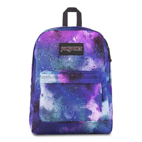 JANSPORT BLACK LABEL SUPERBREAK BACKPACK (GRAFFITI CLOUDS)