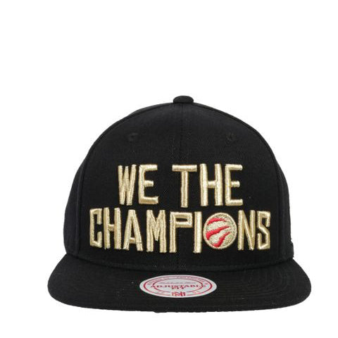 M&N NBA RAPTORS WE THE CHAMPS SNAPBACK - HCwtchmpskwtn19 - Ateaze Canada