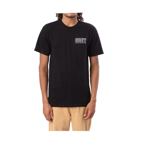OBEY RECORDS TEE - 163081788 - Ateaze Canada