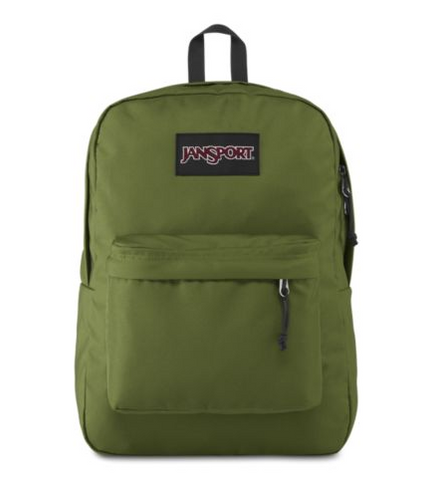 JANSPORT BLACK LABEL SUPERBREAK BACKPACK (NEW OLIVE)