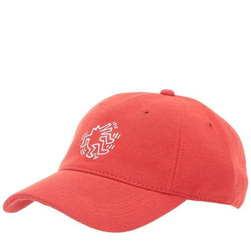 LACOSTE KEITH HARING EMBROIDRED COTTON CAP - RK3895 - Ateaze Canada